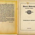 Queen's University, Kingston, Canada. Principal's Report 1918-1919