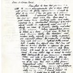 Letter from James Cappon to Lorne Pierce, March 17, 1923. Queen's University Archives