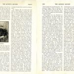 Makers of Queen's, article by Pierce about Cappon in the Queen's Review