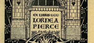 Lorne Pierce bookplate