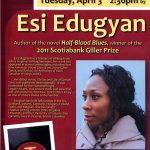 Poster - Esi Edugyam reading