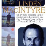 Poster - Lynden MacIntyre reading