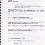 page from program for English Dictionaries in Global and Historical Context conference