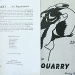 Quarry Magazine. Kingston, Ont. [s.n.], Spring no. 1, 1952.