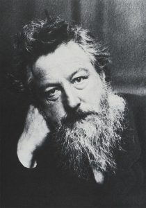 William Morris, 1834-1896. Photograph by Frederick Hollyer 1889