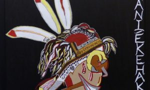 Painting: Headdress